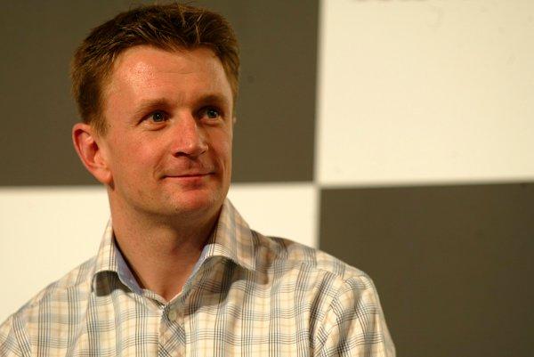 2003 Autosport International.Allan McNish.NEC, Birmingham, England.9-12th January 2003.World Copyright: Spinney/LAT Photographic.Ref.:Digital Image Only.