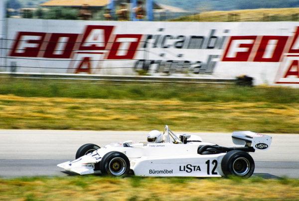 Fredy Lienhard, March 832 BMW/Mader.