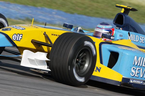 2003 Malaysian Grand Prix. Sepang, Kuala Lumpur, Malaysia.21-23 March 2003.Jarno Trulli (Renault R23) 5th position.World Copyright - Steve Etherington/LAT Photographic ref: Digital Image Only
