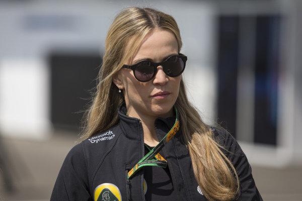 Carmen Jorda (ESP) Lotus F1 Development Driver at Formula One World Championship, Rd17, Mexican Grand Prix, Race, Circuit Hermanos Rodriguez, Mexico City, Mexico, Sunday 1  November 2015.