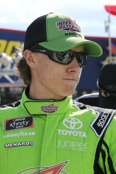 #19: Brandon Jones, Joe Gibbs Racing, Toyota Camry Interstate Batteries