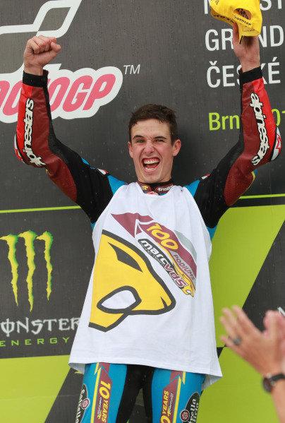 Podium: race winner Alex Marquez, Marc VDS Racing