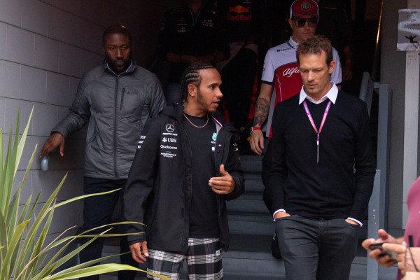 Lewis Hamilton, Mercedes AMG F1 and Alex Wertz