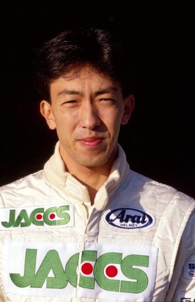 Naoki Hattori (JPN), Coloni.Japanese Grand Prix, Rd15, Suzuka, Japan. 20 October 1991.