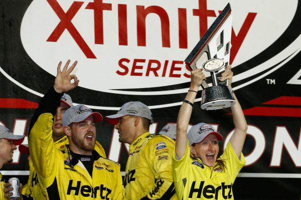 20-21 November, 2015, Homestead, Florida USA Team Penske celebrates winning the Xfinity Series Manufacturer's Championship ©2015, Brett Moist LAT Photo USA