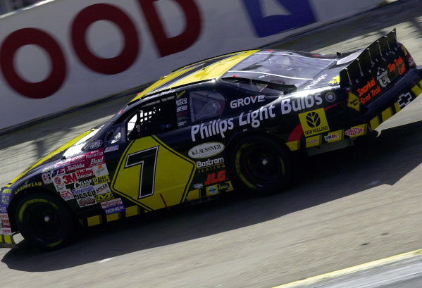 #7 Michael Waltrip at speed.LAT PHOTOGRAPHIC File Photo