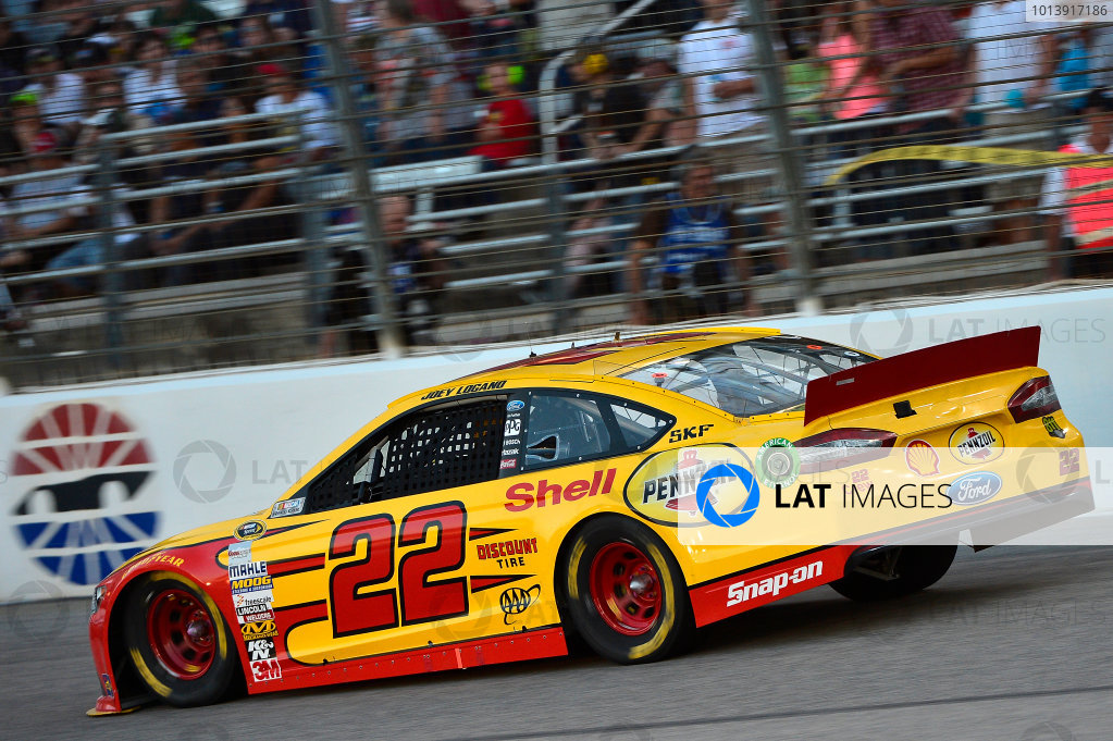 April 11-13, 2013 Fort Worth, Texas USA Joey Logano car © 2013, Brian Czobat LAT Photo USA .