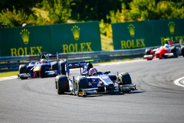 Hungaroring, Budapest, Hungary. Saturday 29 July 2017 Artem Markelov (RUS, RUSSIAN TIME).  Photo: Hone/FIA Formula 2 ref: Digital Image _ONZ9788