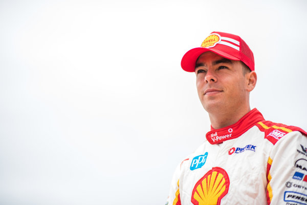 2017 Supercars Championship Round 10.  Sandown 500, Sandown Raceway, Springvale, Victoria, Australia. Thursday 14th September to Sunday 17th September 2017. Scott McLaughlin, Team Penske Ford.  World Copyright: Daniel Kalisz/LAT Images Ref: Digital Image 140917_VASCR10_DKIMG_0456.jpg