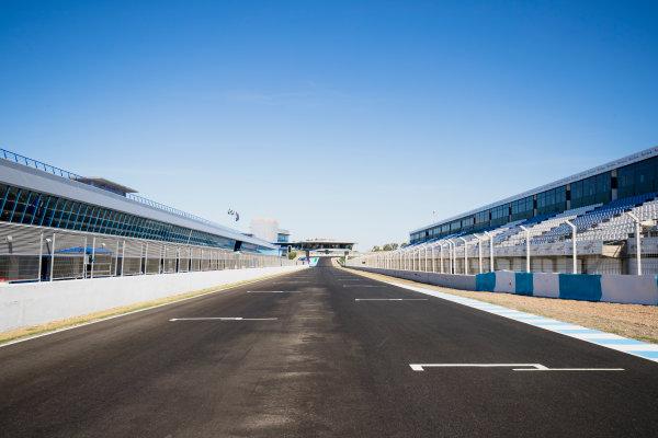 2017 FIA Formula 2 Round 10. Circuito de Jerez, Jerez, Spain. Thursday 5 October 2017. A view of the track. Photo: Zak Mauger/FIA Formula 2. ref: Digital Image _56I3893