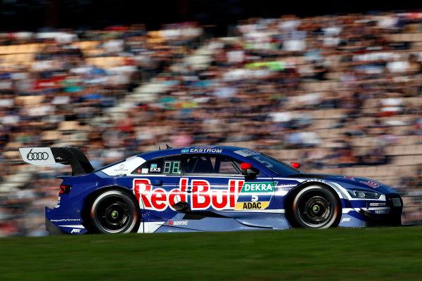 2017 DTM Round 9  Hockenheimring, Germany  Sunday 15 October 2017. Mattias Ekström, Audi Sport Team Abt Sportsline, Audi A5 DTM  World Copyright: Alexander Trienitz/LAT Images ref: Digital Image 2017-DTM-HH2-AT3-2372