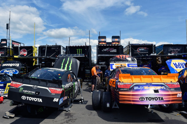 7-8 August, 2015, Watkins Glen, New York USA Boris Said, Monster Energy Toyota Camry  and Kenny Habul, Sun Energy Toyota Camry  ?2015, Nigel Kinrade LAT Photo USA