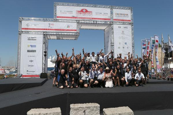 2017 FIA World Rally Championship, Round 07, Rally Italia Sardegna, June 8-11, 2017, Ott Tanak, podium Worldwide Copyright: McKlein/LAT