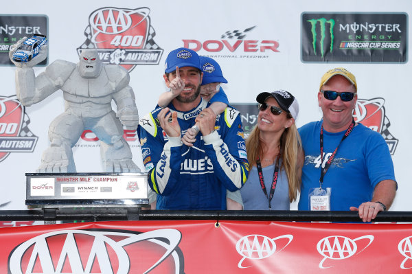 Monster Energy NASCAR Cup Series AAA 400 Drive for Autism Dover International Speedway, Dover, DE USA Sunday 4 June 2017 Jimmie Johnson, Hendrick Motorsports, Lowe's Chevrolet SS World Copyright: Matthew T. Thacker LAT Images ref: Digital Image 17DOV1mt1947