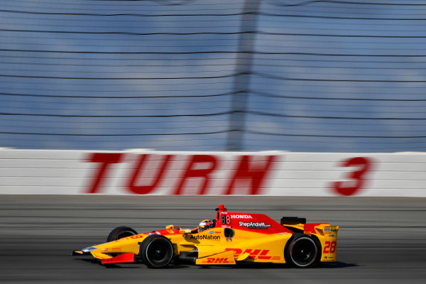 Verizon IndyCar Series ABC Supply 500 Pocono Raceway, Long Pond, PA USA Saturday 19 August 2017 Ryan Hunter-Reay, Andretti Autosport Honda World Copyright: Scott R LePage LAT Images ref: Digital Image lepage-170819-poc-0706