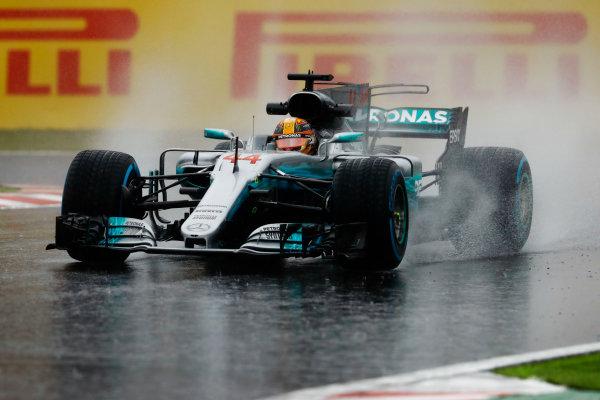 Suzuka Circuit, Japan. Friday 06 October 2017. Lewis Hamilton, Mercedes F1 W08 EQ Power+. World Copyright: Steven Tee/LAT Images  ref: Digital Image _R3I6787