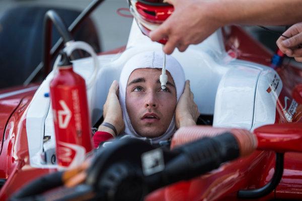 2017 FIA Formula 2 Round 10. Circuito de Jerez, Jerez, Spain. Friday 6 October 2017. Charles Leclerc (MCO, PREMA Racing).  Photo: Andrew Ferraro/FIA Formula 2. ref: Digital Image _FER0539