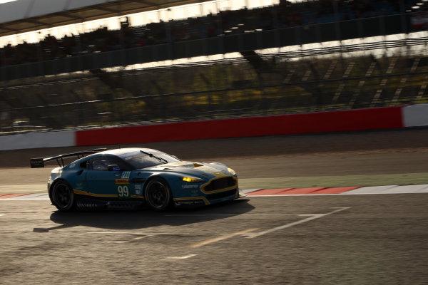 2015 FIA World Endurance Championship, Silverstone, England. 10th-12th April 2015 Alex MACDOWALL, Fernando REES, Richie STANAWAY Aston Martin V8  World copyright. Ebrey/LAT Photographic