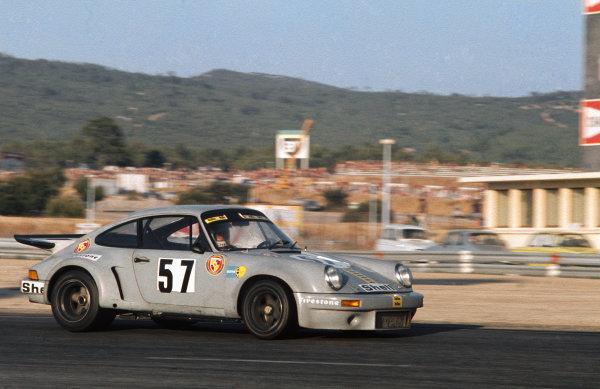 Paul Ricard, France. 15th August 1974. Rd 8.Tim Schenken/Rolf Stommelen (Porsche Carrera RSR), 8th position, action.  World Copyright: LAT Photographic.Ref:  74SCARS