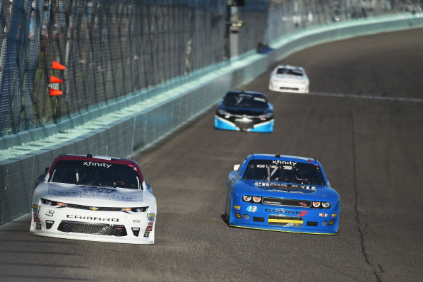 NASCAR Xfinity Series Homestead-Miami Speedway, Homestead, Florida USA Saturday 18 November 2017 Tyler Reddick, Chip Ganassi Racing Chevrolet, Timmy Hill, Dodge World Copyright: Rainier Ehrhardt / LAT Images ref: Digital Image DSC_1136
