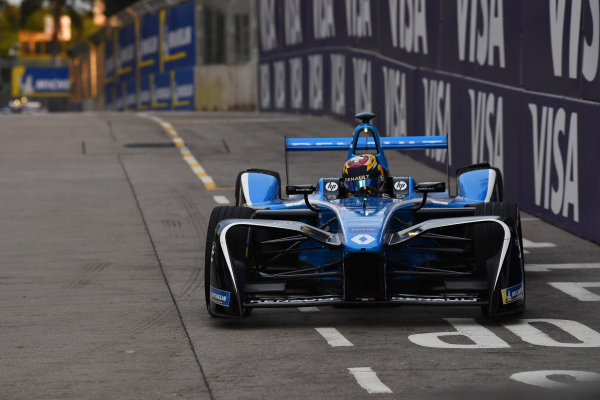 2017/2018 FIA Formula E Championship. Round 1 - Hong Kong, China. Saturday 02 December 2018. Sebastien Buemi (SUI), Renault e.Dams, Renault Z.E 17. Photo: Mark Sutton/LAT/Formula E ref: Digital Image DSC_8491