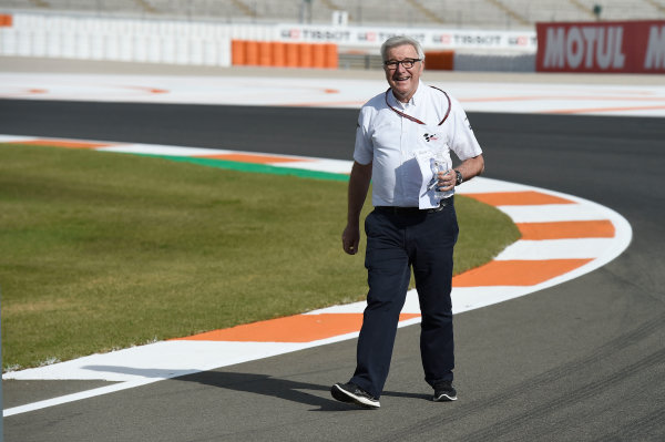 2017 MotoGP Championship - Round 18 Valencia, Spain  Thursday 9 November 2017 Nick Harris, MotoGP, the voice of MotoGP  World Copyright: Alexander Trienitz/LAT Images ref: Digital Image 704366