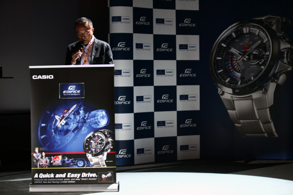 Mr Toshiharu Okimuro, Casio Corporate Officer. Formula One World Championship, Rd 10, German Grand Prix, Preparations, Nurburgring, Germany, Thursday 21 July 2011.