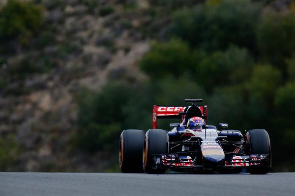 2015 F1 Pre Season Test 1 - Day 1 Circuito de Jerez, Jerez, Spain. Monday 02 February 2015. Max Verstappen, Toro Rosso STR10 Renault. World Copyright: Alastair Staley/LAT Photographic. ref: Digital Image _R6T4183