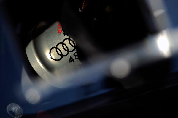 22-25 January, 2015, Daytona Beach, Florida USA Logo detail, #48 Audi entry. ?2015, F. Peirce Williams LAT Photo USA