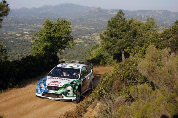 2008 FIA World Rally ChampionshipRound 06Rally d'Italia Sardegna 200815-18 of May 2008Gigi Galli, Ford WRC,Action.