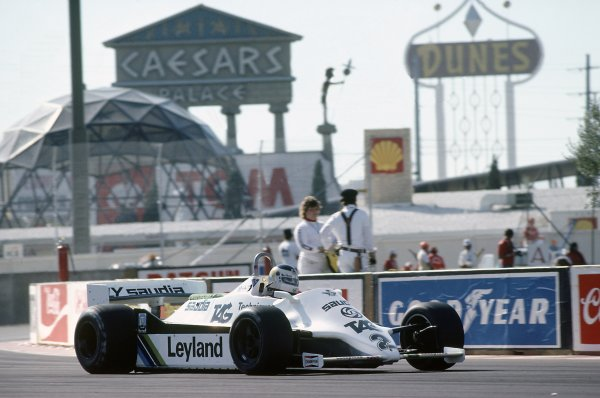1981 Las Vegas Grand Prix.