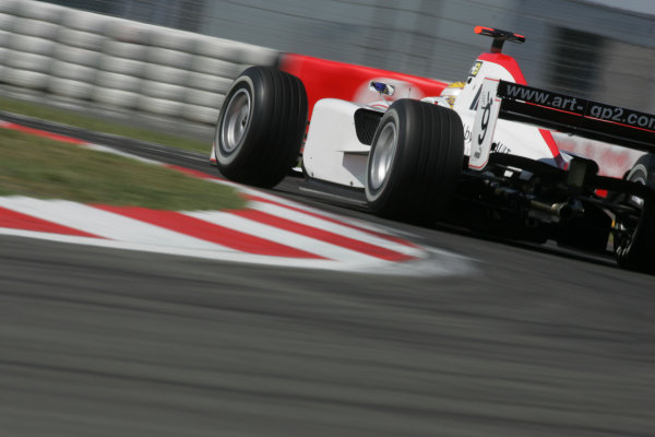 2005 GP2 Series - EuropeanNurburgring, Germany 27th-29th May 2005Friday QualifyingNico Rosberg (D, ART GP). Action. Photo: GP2 Series Media Serviceref: Digital Image Only.