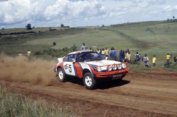 1978 World Rally Championship.Safari Rally, Kenya. 23-27 March 1978.Bjorn Waldegaard/Hans Thorszelius (Porsche 911SC), 4th position.World Copyright: LAT PhotographicRef: 35mm transparency 78RALLY09