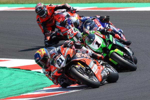 Michael Ruben Rinaldi, Aruba.It Racing - Ducati, Jonathan Rea, Kawasaki Racing Team WorldSBK, Toprak Razgatlioglu, PATA Yamaha WorldSBK Team, Scott Redding, Aruba.It Racing - Ducati.