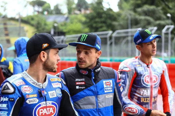 Sandro Cortese, GRT Yamaha WorldSBK, Alex Lowes, Pata Yamaha.