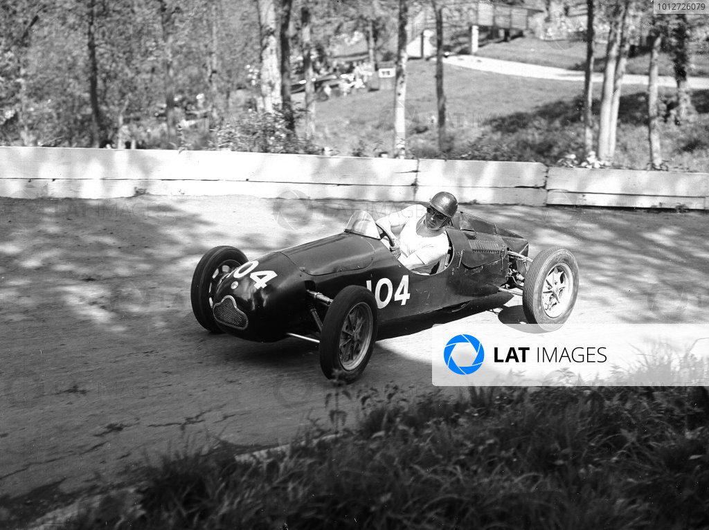 1950s Prescott hillclimb.Ken Wharton (Cooper).Ref-Motor 759/13.World Copyright - LAT Photographic