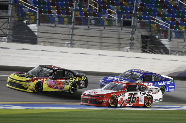 #36: Alex Labbe, DGM Racing, Chevrolet Camaro Globocam/Prolon Controls #48: Jade Buford, Big Machine Racing, Chevrolet Camaro
