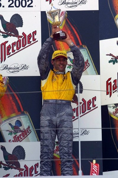 Alain Menu (SUI) finished in 3rd place.