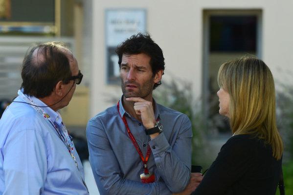 Mark Webber (AUS) at Formula One World Championship, Rd2, Bahrain Grand Prix Race, Bahrain International Circuit, Sakhir, Bahrain, Sunday 3 April 2016.
