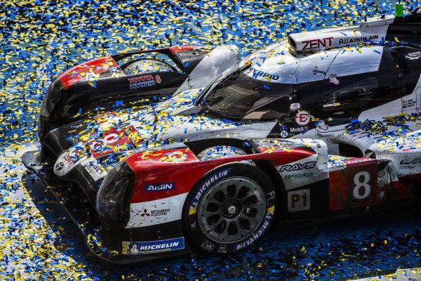 Toyota Gazoo Racing, Toyota TS050 Hybrid: Sébastien Buemi, Brendon Hartley, Kazuki Nakajima