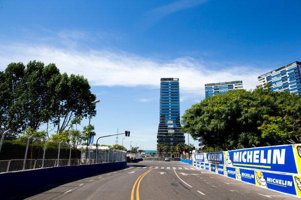 2015/2016 FIA Formula E Championship. Buenos Aires ePrix, Buenos Aires, Argentina. Friday 5 February 2016. A view of the track. Photo: Zak Mauger/LAT/Formula E ref: Digital Image _L0U9784
