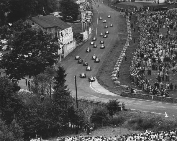 Spa-Francorchamps, Belgium. 22nd June 1952.