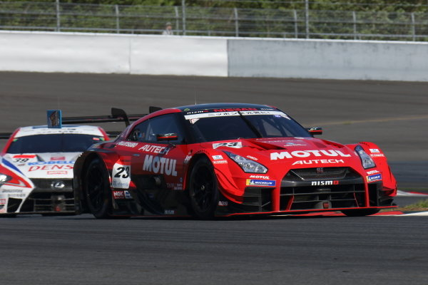 GT500 winner Tsugio Matsuda & Ronnie Quintarelli in the number 23 Motel Autech NISMO Nissan GT-R.