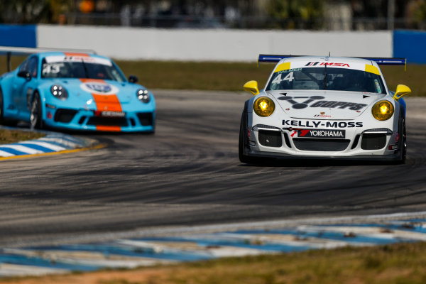 2017 Porsche GT3 Cup USA Sebring International Raceway, Sebring, FL USA Friday 17 March 2017 44, Greg Palmer, GT3G, USA, 2015 Porsche 991 World Copyright: Jake Galstad/LAT Images ref: Digital Image lat-galstad-SIR-0317-14861
