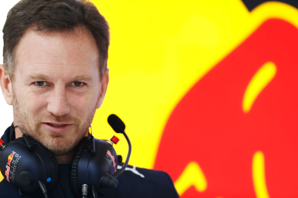 Shanghai International Circuit, Shanghai, China.  Friday 07 April 2017. Christian Horner, Team Principal, Red Bull Racing.  World Copyright: Glenn Dunbar/LAT Images ref: Digital Image _31I3642