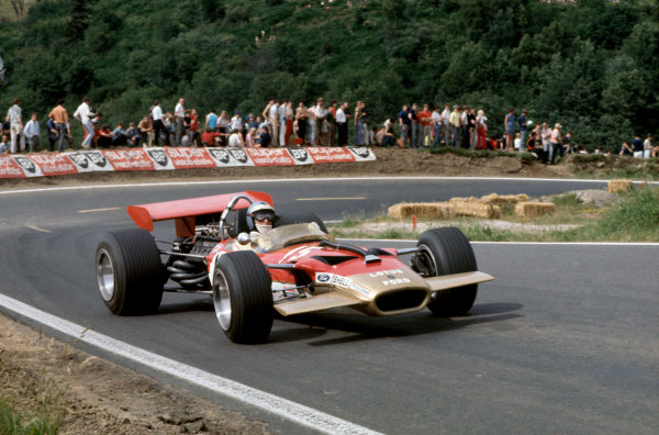 Charade, Clermont-Ferrand, France. 4-6 July 1969. Jochen Rindt (Lotus 49B-Ford Cosworth), Retired. World Copyright: LAT Photographic Ref: 35mm transparency 69FRA11