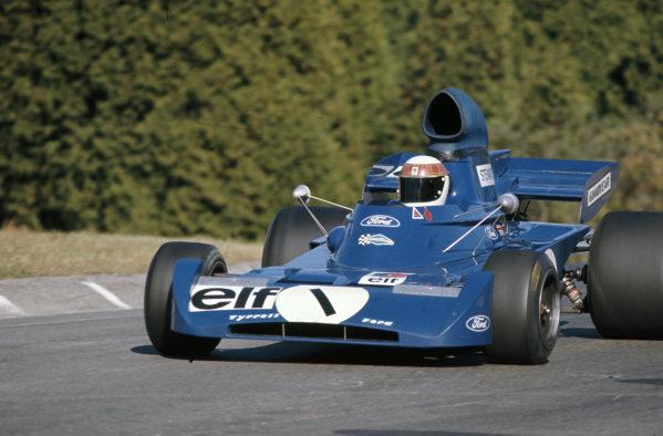 Jackie Stewart, Tyrrell 005 Ford.