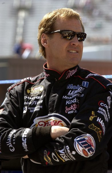 03/26/04 NASCAR Nextel Cup Series.Round 6 of 36. Food City 500. Rusty Wallace. Bristol, Tennessee, USA.