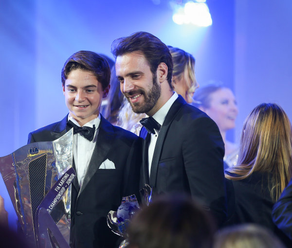 Victor Bernier and Jean-Eric Vergne