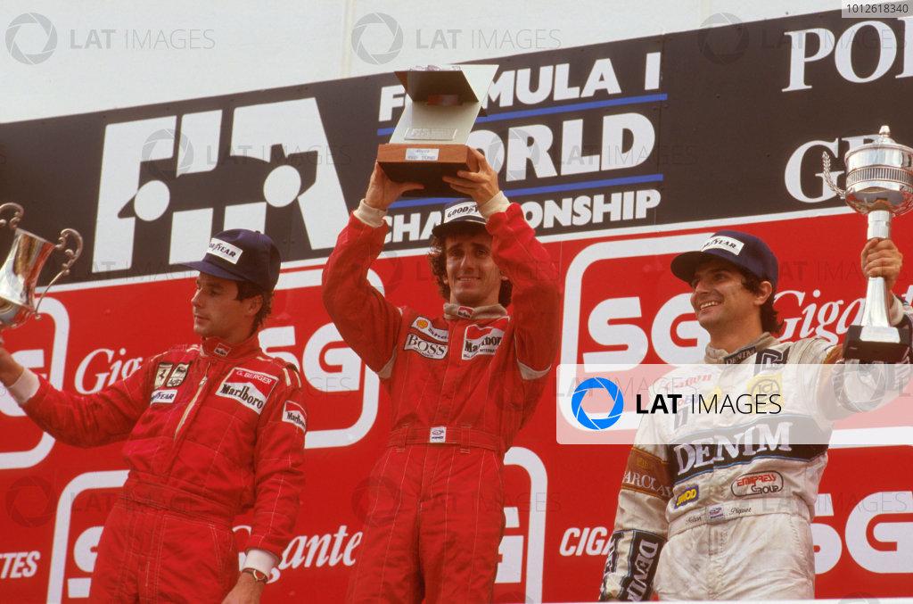 1987 Portuguese Grand Prix.